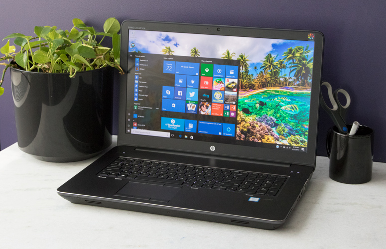 laptop hp zbook 17 g4 8