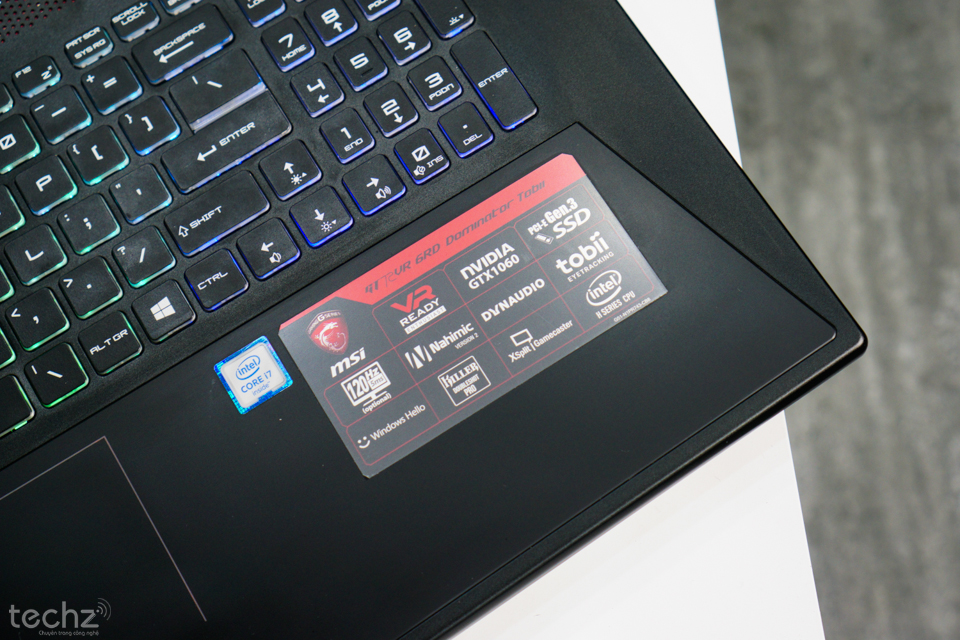 laptop msi gt72vr 8