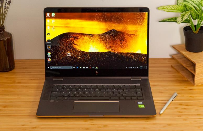laptop hp spectre x360 15